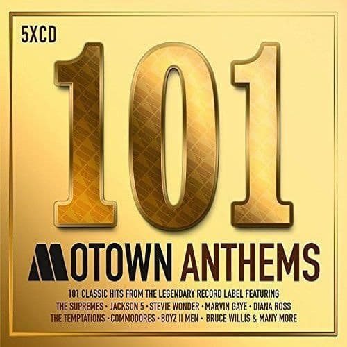 Various<br>101 Motown Anthems<br>5CD, Comp